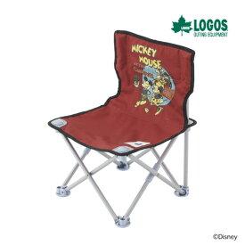 ロゴス ディズニー タイニーチェア・ポケットプラスビンテージミッキーマウス&ミニーマウス86003679