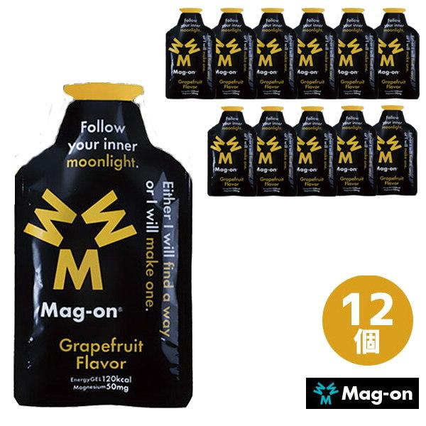Mag-on マグオン グレープフルーツフレーバー エナジージェル 12コ TW210104