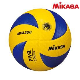ミカサ(mikasa) MVA300 バレーボール 国際公認球 検定球5号 黄/青