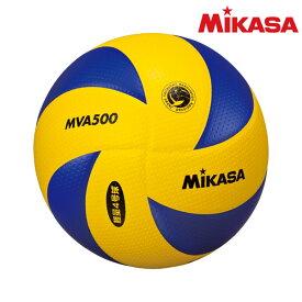 ミカサ(mikasa) MVA500 小学生バレーボール 検定球4号軽量 黄/青