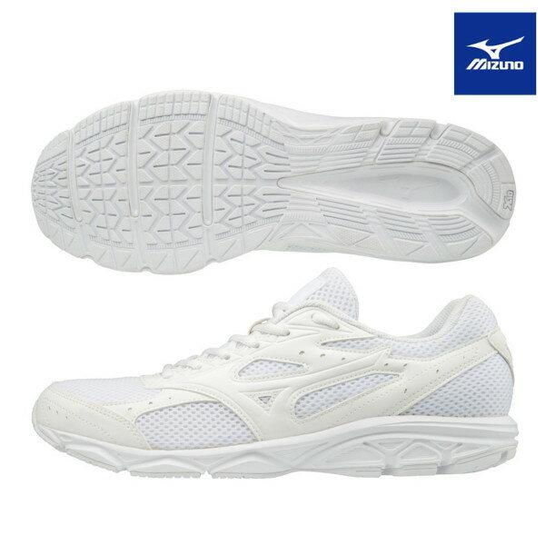 ミズノ(mizuno) MAXIMIZER 20 マキシマイザー20 K1GA180201 通学シューズ ランニング 白靴