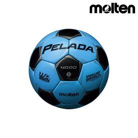 モルテン(molten) サッカーボール ペレーダ4000 F5P4000-CK サックスブルー×メタリックブラック