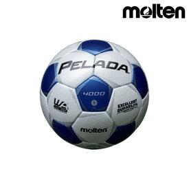 モルテン(molten) サッカーボール ペレーダ4000 F5P4000-WB シャンパンシルバー×メタリックブルー
