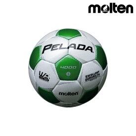 モルテン(molten) サッカーボール ペレーダ4000 F5P4000-WG シャンパンシルバー×メタリックグリーン