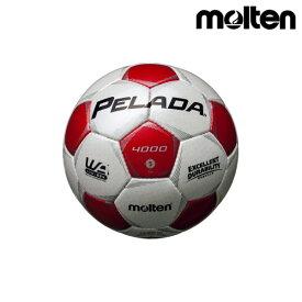 モルテン(molten) サッカーボール ペレーダ4000 F5P4000-WR シャンパンシルバー×メタリックレッド
