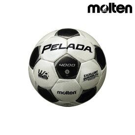 モルテン(molten) サッカーボール ペレーダ4000 F5P4000 シャンパンシルバー×メタリックブラック