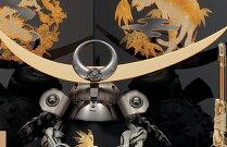 【送料無料】【2018新作五月人形】五月人形五月節句飾り東旭監製兜飾り収納飾り日輪月光兜飾り13号(戦国武将・上杉謙信)(正絹威仕立)(金彩仕様黒塗台屏風)(収納型・収納タイプ)