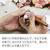 雛人形木目込み雛人形親王飾りひらりシリーズ