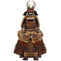 雄山作-徳川家康-鎧飾り8号