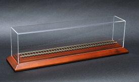 鉄道模型 天賞堂 16.5mmゲージ HOゲージ 車輌展示用アクリルクリアーケース ディスプレイケース320 展示ケース アクリルケース