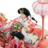 希娜娃娃紧凑的玩偶娃娃节拘泥小鸡有限原始案例点缀音乐盒案例装饰粉红色的案例五装饰木制小工具名称标签