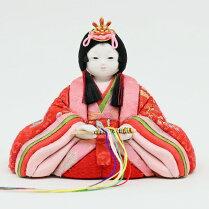 こひな-吉祥箱-(人形工房天祥オリジナル正絹・京都西陣織物)
