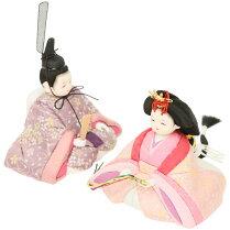 雛人形コンパクトひな人形雛人形木目込み人形こひな桜扇(白木)シリーズ木目込み雛人形おしゃれひな人形かわいい雛人形おしゃれインテリアお雛様