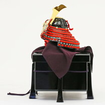 最大ポイント19倍スマホエントリーで!五月人形コンパクト兜兜飾り子供の日端午の節句兜5月人形送料無料【2018年新作】加藤鞆美作足利義昭公之兜1/3人形広場