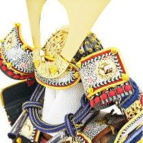 五月人形コンパクトな鎧飾り奉納鎧鎧鎧飾り甲冑飾り人形工房天祥限定オリジナル「コンパクトな鎧飾り鎧5号奉納鎧天勢(正絹紺糸縅)」