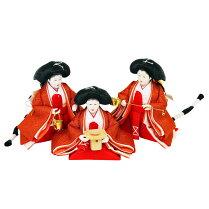 雛人形ひな人形五人飾り五人揃え人形工房天祥限定オリジナル衣装着雛人形衣装着ひな人形「雛小三五親王芥子官女飾り(三人官女付)」雛祭りひな祭り初節句お祝い
