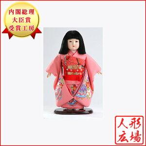 市松人形 雛人形 五月人形 5月人形 お出迎え人形 お祝い人形 初節句 送料無料 正絹ちりめん市松人形 人形広場