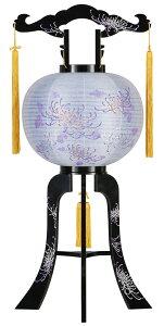 盆提灯 置き提灯 回転行灯 回転 紫音 40W 紙張二重 糸菊に梅鉢小紋 プラスチック 完成筒 紫 斜線 盆提灯 モダン 盆提灯 盆提灯 回転提灯 回る 提灯 盆ちょうちん お盆飾り 仏具