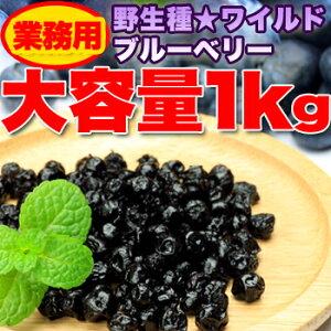 野生種★ワイルドブルーベリー大容量1kg≪常温≫