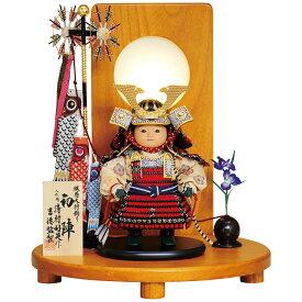 五月人形 吉徳 鎧着大将飾り 清村好英作 五月人形 鎧