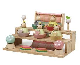雛人形 コンパクト 木製 Puca(プーカ) hina おひなさま ひな人形 特選