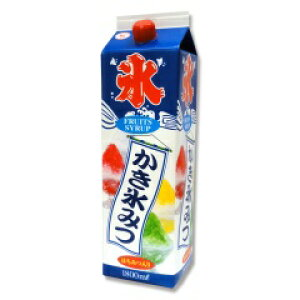 New 蜜元 みつもと 氷みつ【かき氷シロップ ミント】1.8リットル☆業務用サイズ氷蜜☆1.8l