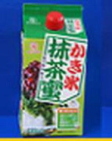 蜜元研究所 【かき氷 抹茶蜜】900ミリリットル 900mlかきごおりシロップ 氷みつ