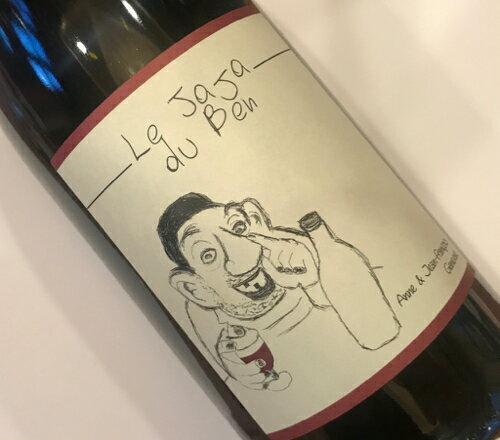 アンヌ・エ・ジャン・フランソワ・ガヌヴァ ヴァン・ド・フランス・ルージュ ジャジャ デュ ベン 2016  Vin de France Rouge Jaja du Ben No.107172
