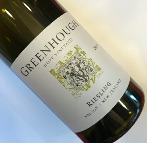 グリーンホフ・ヴィンヤード ホープ・ヴィンヤード・リ-スリング2013 Greenhough Vineyard Riesling No.105781