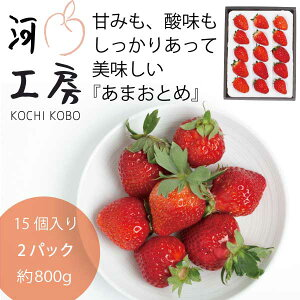ギフト 晴れの国 岡山 あまおとめ 苺 いちご イチゴ 2パック30個 約800g strawberry 販売中 産地直送 収穫後即発送 送料無料!!一部の地域を除く