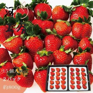 ギフト おいCベリー 苺 いちご イチゴ 2パック 30個入り 約800g (1パック 15個入り) 晴れの国 岡山  strawberry 産地直送 収穫後即発送