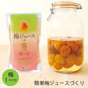 こだま食品 梅ジュースの素 完熟梅約1キロ分