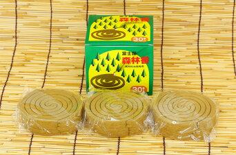 【蚊取り線香ではありません】富士錦森林香(黄色)30巻入り【防虫業務用激安セール】アウトドア