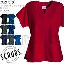 Yネックチュニックトップ Z1002/レディース XS〜L 全11色 スクラブ 手術衣 女性/SCRUBS(スクラブス) スマートスクラブ…