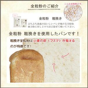 全粒粉粗挽きのパン