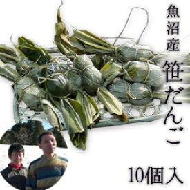 魚沼産 究極の笹だんご10個入