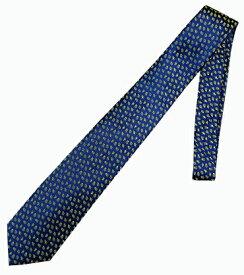 ネクタイ ミラショーン 幾何学柄 お洒落 ネクタイ 変化柄 ネイビー