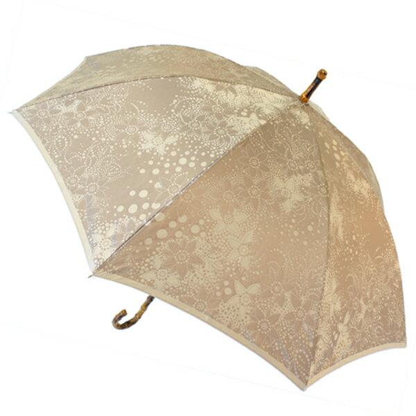 傘 80歳 お祝い 傘寿 プレゼント ドット柄 花柄 槙田商店 甲州織 kirie ドットフラワー モカ 03660119