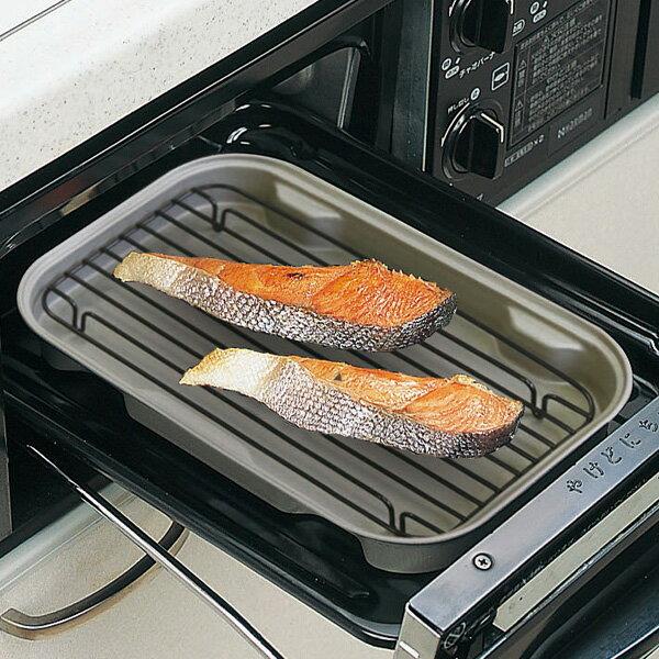 魚 網 焼き魚 少量 お弁当 照り焼き グリル あみ 手入れ かわいい おしゃれ 冷凍ピザ 調理 ニューちょい焼きトレー