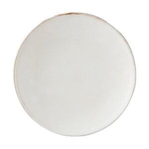 白 ホワイト大きい さら 大皿 深い 魚 姿煮 波佐見焼 ナチュラル シンプル 自然 朝食 日本製 陶器白化粧 8号皿 41803