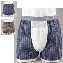 失禁パンツ 介護 男性用 メンズ 下着失禁用トランクス2色組