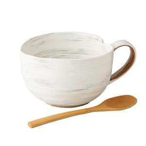 かわいい おしゃれ 有田焼 磁器 鉢粉引 納豆鉢 さじ付