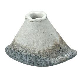 花入 小さい ミニ 花瓶 一輪挿し 花瓶 陶器 和室 花器 花 インテリア 季節 癒し 陶器 日本製冬の富士 G5-3708
