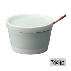 キッチン 雑貨 小物 スパイス入れ 薬味入れ セット 3個 磁器 おしゃれ シンプル 可愛い プレゼント 日本製es スパイスポット 青磁釉 3個組