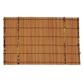 マット 竹 インテリア 敷物 テーブル 机 おしゃれ 日本製 スス竹マット(大) 5570