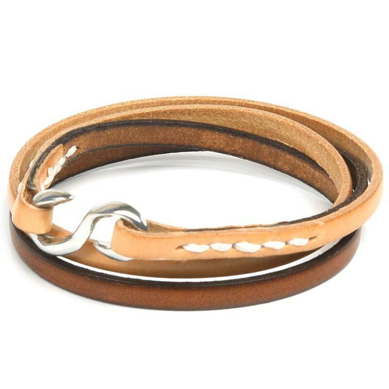 KC,s ケイシイズ ブレスレット ブロンコ ブレス メンズ(牛皮革)[ブレスレット][KC,s leather craft][ケーシーズ][本革][レザークラフト][メーカー取り寄せ/在庫未確定商品][メール便可(200円)]【優れものA】