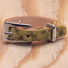 KC,s ケイシイズ 指輪 スモールバックル リング パイソン ニシキヘビ革 指輪 KC,s leather craft ケーシーズ 本革 ブランド [メーカー取り寄せ/在庫未確定商品][優れものA]