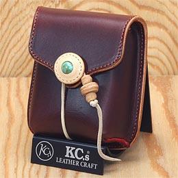 KC,s ケイシイズ タオスケース ヨーロッパ産牛皮 ホルダー KC,s leather craft ケーシーズ 本革 ブランド [メーカー取り寄せ商品][優れものA]