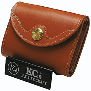 KC,s ケイシイズ 財布 デルタ ビルフォールド 栃木レザー 牛ヌメ革 KIB503 スナップボタン式 ミニ財布 三つ折り財布 革財布 メンズ レディース KC'S ケイシーズ ケーシーズ 日本製 本革 ブランド
