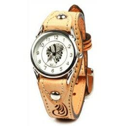 KC,s ケイシイズ 時計 カクタス ウォッチブレス フリーカット 牛皮革 KIR501 腕時計 メンズ レディース KC,s leather craft ケーシーズ 本革 ブランド [メーカー取り寄せ商品][優れものA]